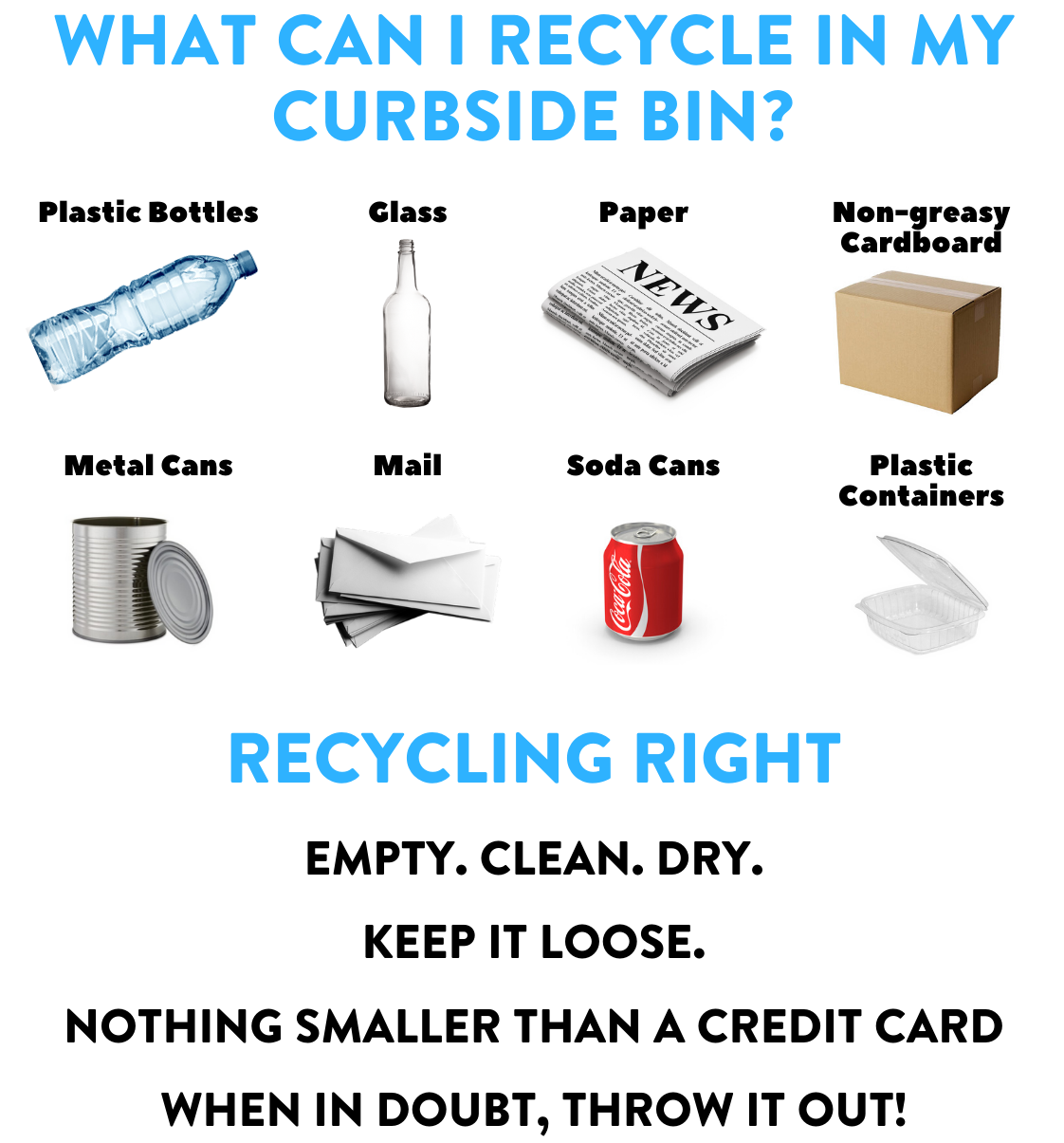 What Can I Recycle In My Curbside Bin